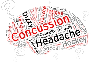 Concussion word art