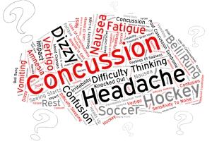 Concussion word art